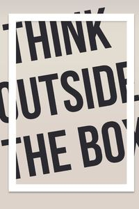1440x2960 Think Outside The Box