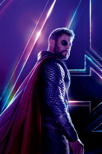 Thor In Avengers Infinity War New 8k Poster