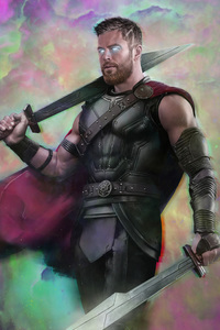 Thor Ragnarok Movie Art 2018