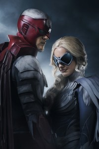 640x960 Titans Tv Series Hawk And Dove 4k
