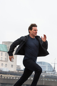 Tom Cruise Running Mission Impossible Fallout