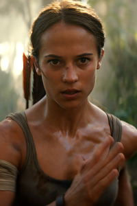 320x480 Tomb Raider 2018 Alicia Vikander As Lara Croft