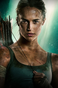 1280x2120 Tomb Raider 2018 Movie Alicia Vikander Poster