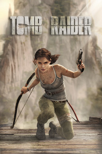 Tomb Raider Alicia Vikander Art