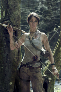 540x960 Tomb Raider Lara Croft Cosplay 4k