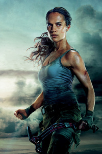 360x640 Tomb Raider Movie 4k