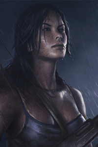 800x1280 Tomb Raider Reborn 5k Art