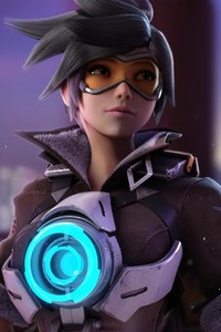 1080x1920 Tracer Overwatch Game
