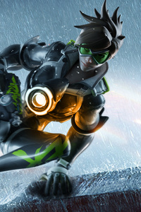 720x1280 Tracer Ovewatch Artwork 4k