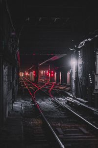 1080x2160 Train Tunnel 8k