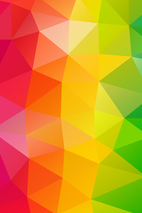 640x1136 Triangles Colorful Background
