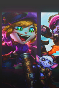 240x320 Tristana League Of Legends