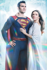 640x960 Tyler Hoechlin And Bitsie Tulloch In Supergirl