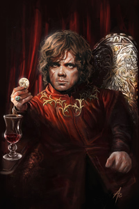 320x480 Tyrion Lannister Digital Arts 8k
