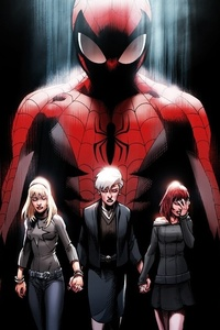 1125x2436 Ultimate Spider Man 2017