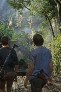 360x640 Uncharted 4 Desktop Game