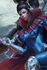 Vayne League Of Legends Girl Artwork