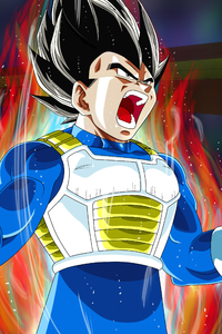 Vegeta Dragon Ball Super 4k