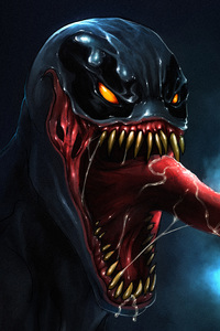 480x854 Venom 5k Artwork