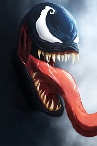 320x568 Venom Digital Art Hd