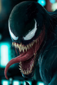 Venom In The City Art