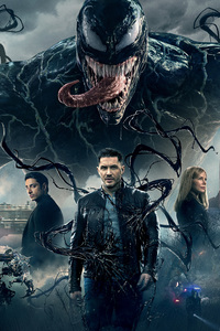 1125x2436 Venom Movie 2018 8k