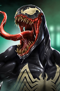 1280x2120 Venom Pop Culture Art