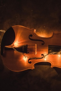 1440x2560 Violin Lighting Instrument