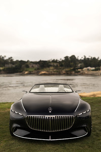 640x1136 Vision Mercedes Maybach 6 Cabriolet 2017