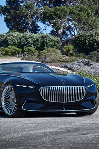 640x1136 Vision Mercedes Maybach 6 Cabriolet