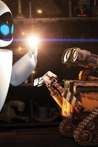 640x960 Wall E and Eve