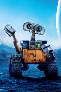 1125x2436 Wall E Movie Poster