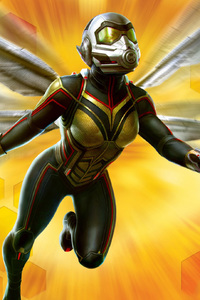 Wasp In Ant Man And The Wasp Movie 2018