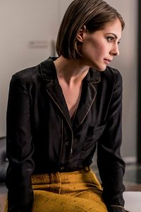 Willa Holland As Thea Queen In Arrow 2018