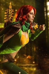 540x960 Windranger DotA 2 Cosplay