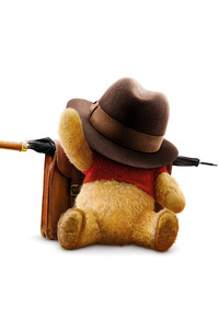 640x960 Winnie The Pooh In Christopher Robin Movie 8k
