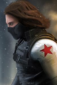 1125x2436 Winter Soldier 4k