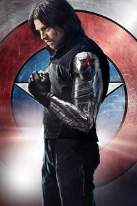 1080x2160 Winter Soldier Bucky Barnes 5k