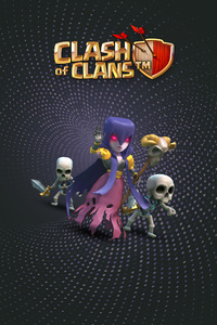 Witch Clash Of Clans HD