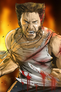 Wolverine 4k Fan Art