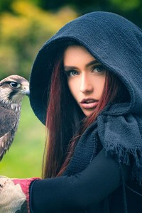 Women With Owl