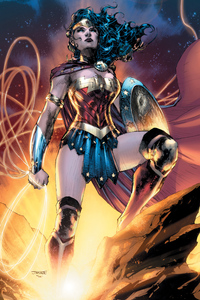 800x1280 Wonder Woman Dc Comic Artwork