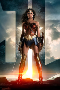 1280x2120 Wonder Woman Justice League 2017