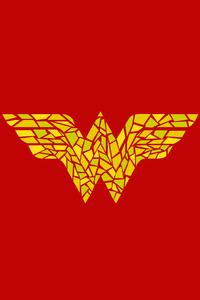 Wonder Woman Logo Artwork