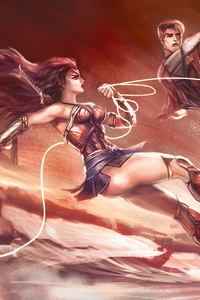 540x960 Wonder Woman Love In War