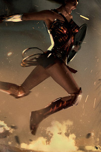 320x568 Wonder Woman Vs Ares