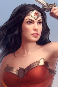 320x568 Wonder Women Comic Book Artwork