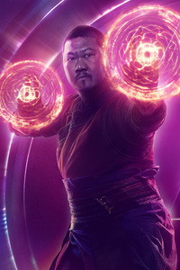 Wong In Avengers Infinity War New Poster
