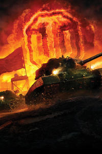 480x800 World Of Tanks Games