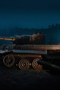 480x800 World Of Tanks Video Game 2